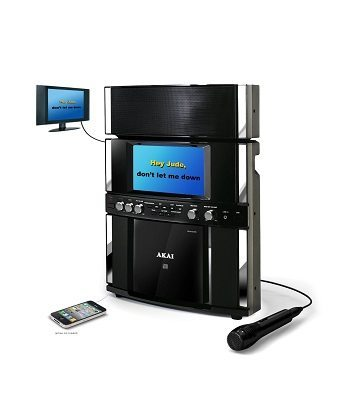 Akai Karaoke KS800 Front Load CD + G Karaoke System Review