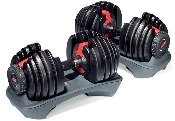 Bow Flex Select Tech 552 Adjustable Dumbbells review