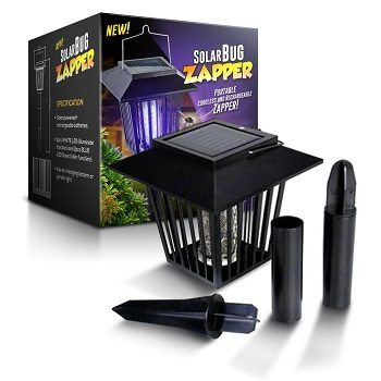 BugZZZap Solar-Powered Outdoor Bug Zapper Review​