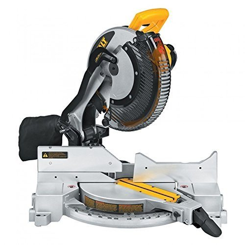 Dewalt DW715 15 AMP 12 Inch Single-Bevel Compound Miter Saw review