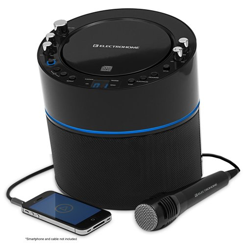 Electrohome Karaoke Machine Speaker System CD Review