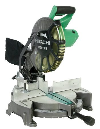 Hitachi C10FCE2 15 amp 10 inch Single Bevel Compound Miter Saw review