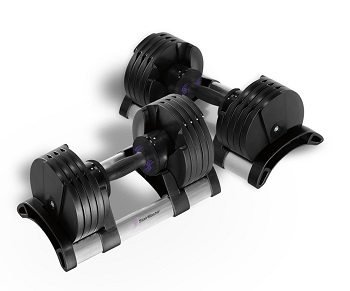 Stair Master Pair of Twist Lock Adjustable Dumbbells review