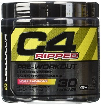 Cellucor C4 Ripped Pre workout Thermogenic Fat Burner Powder Review