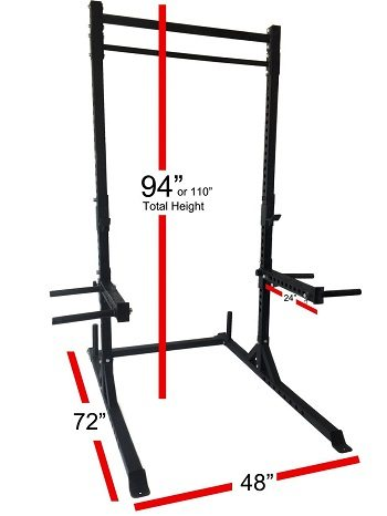 Rep Squat Rack with Pull Up Bar Review​