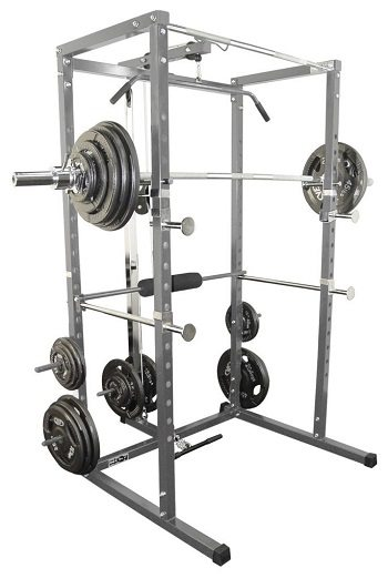 Valor Power Rack with Lat Pull Attachment Review