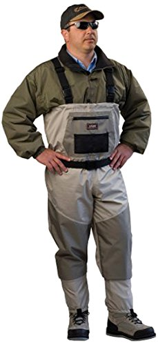 Caddis Men's Attractive 2-Tone Tauped Deluxe Breathable Stocking Foot Wader Review