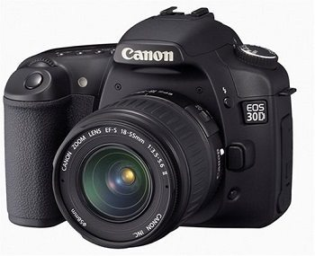 Canon EOS 30D 8.2MP Digital SLR Camera Review