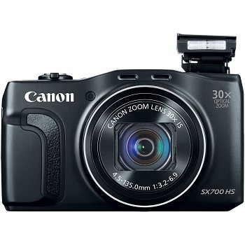 Canon PowerShot SX700 HS Digital Camera Review