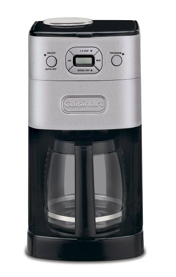 Cuisinart DGB-625BC Grind-and-Brew 12-Cup Automatic Coffeemaker Review
