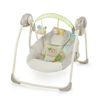Ingenuity SooThe 'n Delight Portable Swing Review