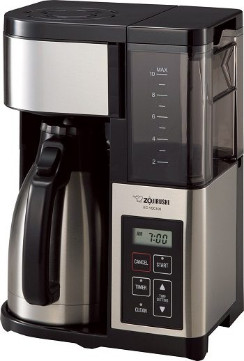 Zojirushi EC-YSC100 Fresh Brew Plus Thermal Carafe Coffee Maker Review