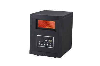 Global Air GD9315BC1 Large Room Infrared Quartz Heater with Remote Control Review