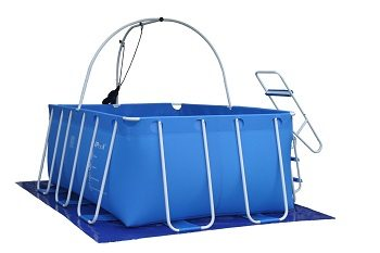 IPool Deluxe Above Ground Exercise Swimming Pool With Filter Pump And Heater Upgrade Review
