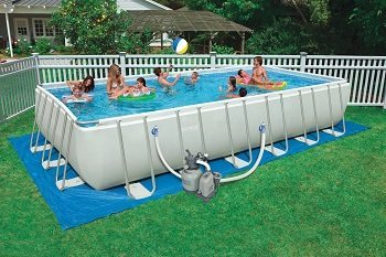 Intex 54979EG Rectangular Ultra Frame Pool Review