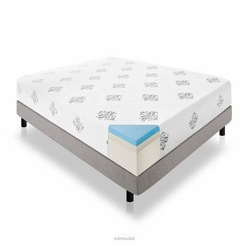 LUCID 12 Inch Gel Memory Foam Mattress Review