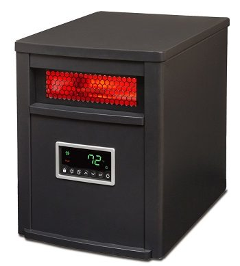 Lifesmart Large Room 6 Element Infrared Heater with Remote Review