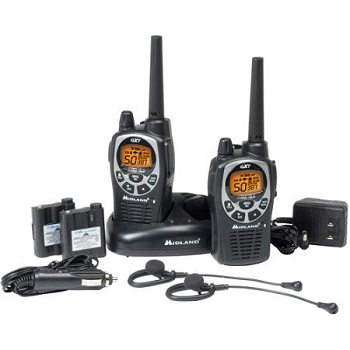 Midland GXT1000VP4 36-Mile Walkie Talkie
