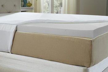 Natures Sleep Cool IQ King Size 2.5 Inch Thick, 4.5 Pound Density Memory Foam Mattress Topper Review