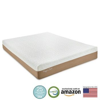 Perfect Cloud Gel-Plus 10-Inch Size Memory Foam Mattress Review