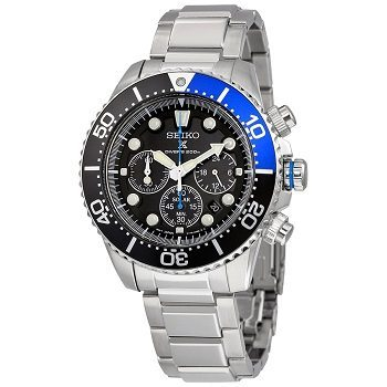 Seiko Men's SSC017 Prospex Solar Stainless Steel Dive Watch Review