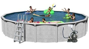 Splash Pools above Ground Round Pool Package Review