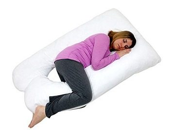 U Shaped-Premium Contoured Body Pregnancy Maternity Pillow Review