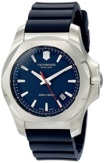 Victorinox Men's 241688.1 I.N.O.X. Analog Display Swiss Quartz Blue Watch Review