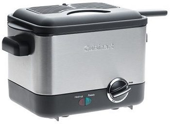 Cuisinart CDF-100 Compact 1.1-Liter Deep Fryer Review
