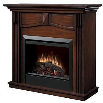 Dimplex Holbrook DFP4765BW Traditional Electric Fireplace Mantle Review