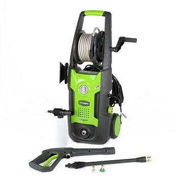 Greenworks 1,600-PSI 1.2-GPM Cold Water Electric Pressure Washer Review