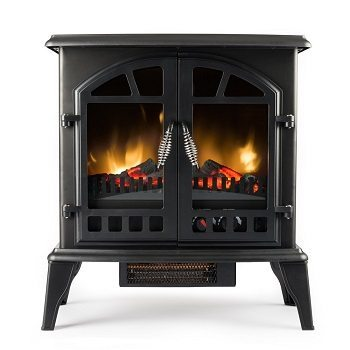 Jasper Free Standing Electric Fireplace Stove - 25 Inch Review
