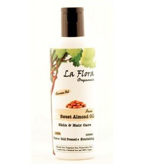 La Flora Organics Almond Oil Review