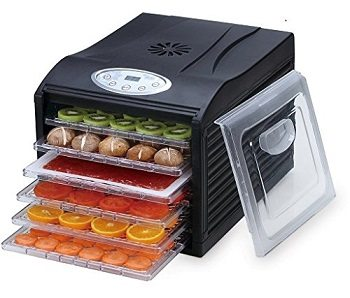 "Samson ""Silent"" Dehydrator 6-Tray with Digital Controls Review"