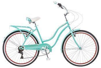 Schwinn 26 Ladies Perla 7 Speed Cruiser Bike, 26-Inch, Blue Review