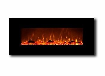 Touchstone 50 inch Onyx Electric Wall Mounted Fireplace - Black Review