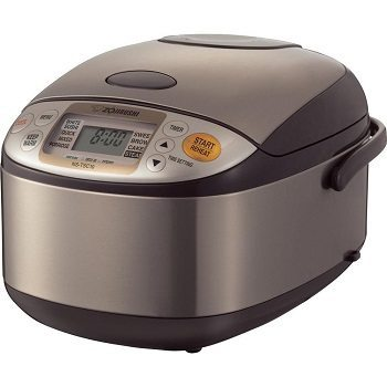 Zojirushi NS-TSC10 5-1 half-Cup (Uncooked) Micom Rice Cooker and Warmer Review