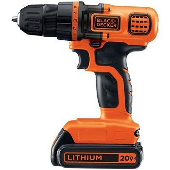 Black & Decker LDX120C 20-Volt MAX Lithium-Ion Cordless Drill Driver Review