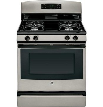 GE JGBS60GEFSA 30 Slate Gas Sealed Burner Range Review