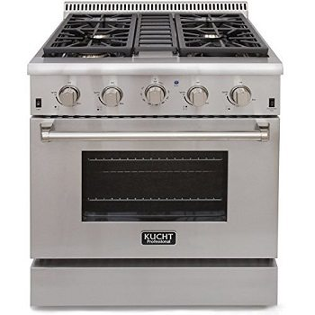 Kucht KRG3080U 30 Professional-Class Natural Gas Range Review