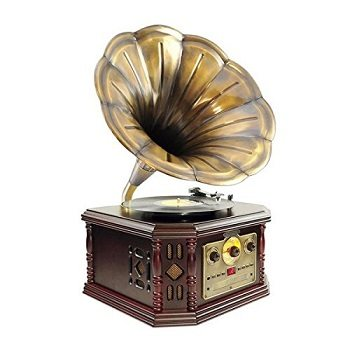 PYLE-HOME PVNP4CD Vintage Phonograph Horn Turntable Review