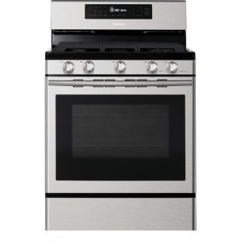 Samsung NX58H5600SS 30 In. Freestanding Gas Range with Custom Griddle Review