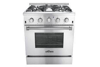 Thor Kitchen HRG3080U 30 Freestanding Professional Style Gas Range Review