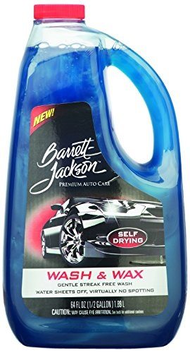 Barrett-Jackson Car Wash and Wax Liquid Review