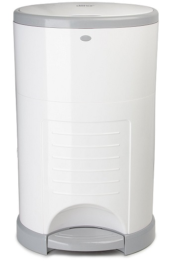Dekor Mini Hands-Free Diaper Pail Review
