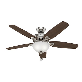 Hunter 53090 Builder Deluxe 5-Blade Single Light Ceiling Fan Review
