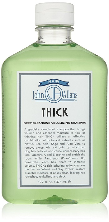 John Allan's Thick Shampoo, 12.6 Fl. oz. Review