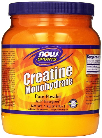 NOW Foods Creatine Powder, 2.2 Pounds Review