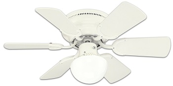 Westinghouse 78108 Petite Reversible 3-Speed Hugger Six-Blade Indoor Ceiling Fan Review