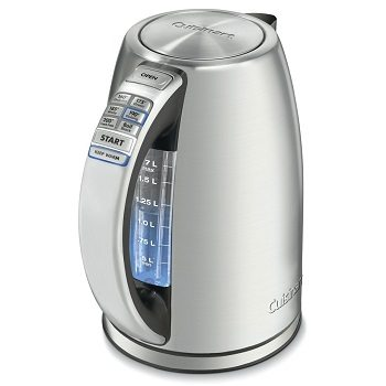 Cuisinart CPK-17 PerfectTemp 1.7 Liter Stainless Steel Cordless Electric Kettle review